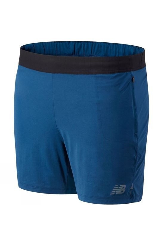New Balance Mens Q Speed Fuel Short Rogue Wave
