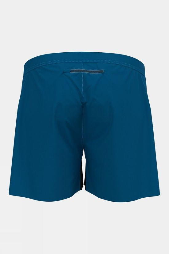 Odlo Mens Zeroweight 5 Inch Shorts Mykonos Blue