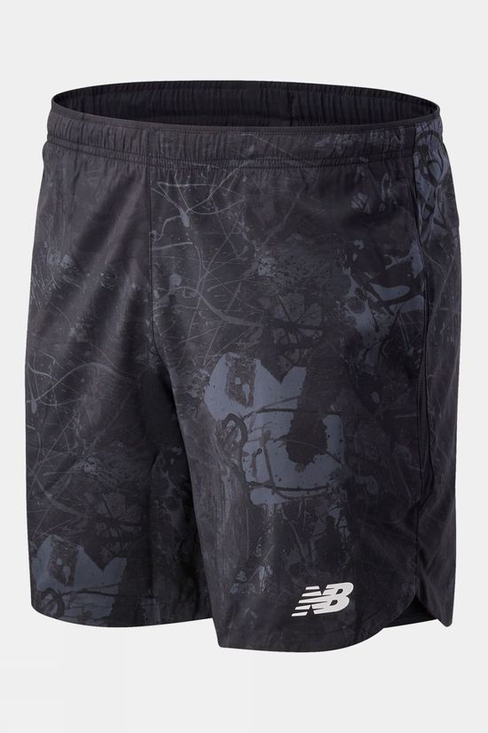 "New Balance Men's Velocity 2-in-1 7"" Shorts Paisley Print"