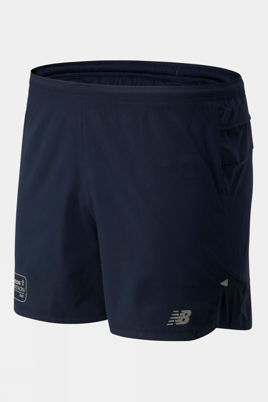 "New Balance Men's Impact Run 5"" Short Eclipse"