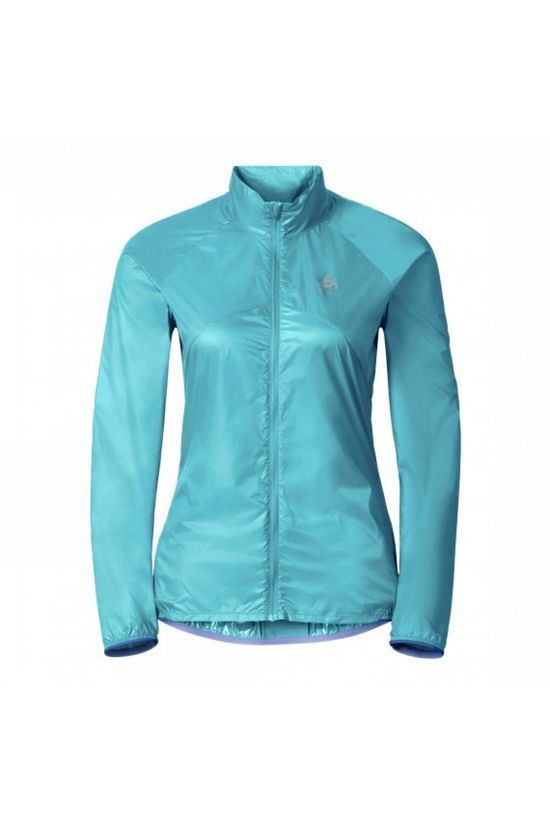 Odlo  Womens LTTL Running Jacket Blue Radiance