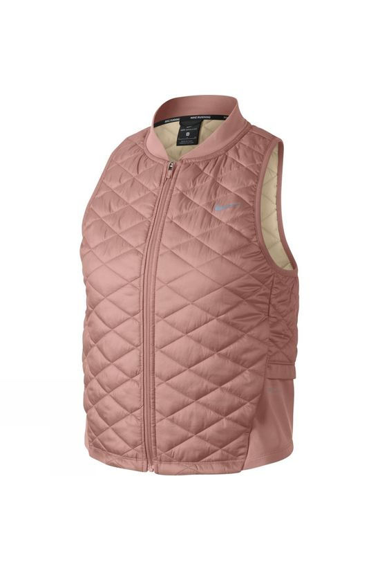 Nike   Women's Aerolayer Vest  Rust Pink/Guava Ice