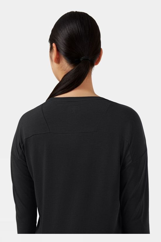 On Women's Comfort Long T Black