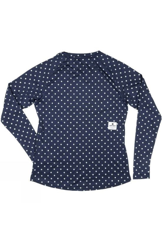 Saysky Star Night Pace L/S Tee Maritime Melange