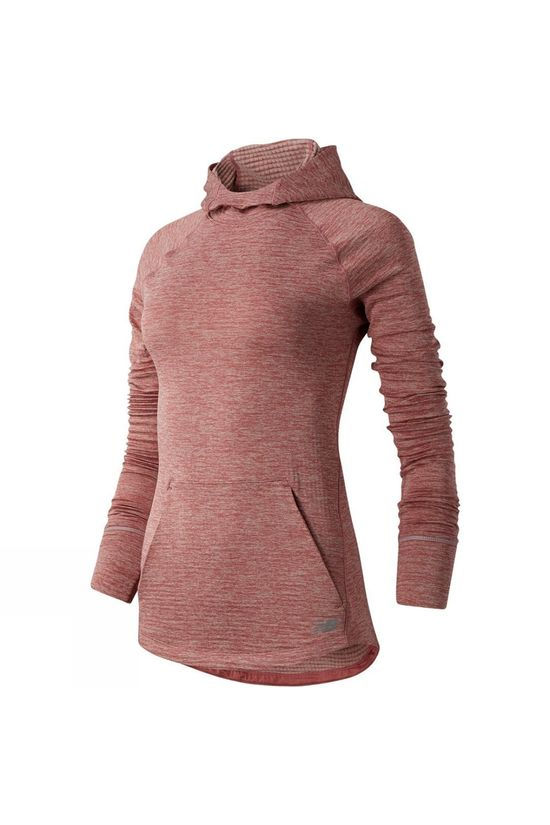 New Balance Womens Heat Grid Hoodie Off Road