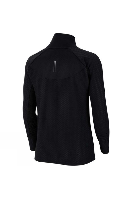 Nike Women's Sphere 1/2 Zip Running Tee Black