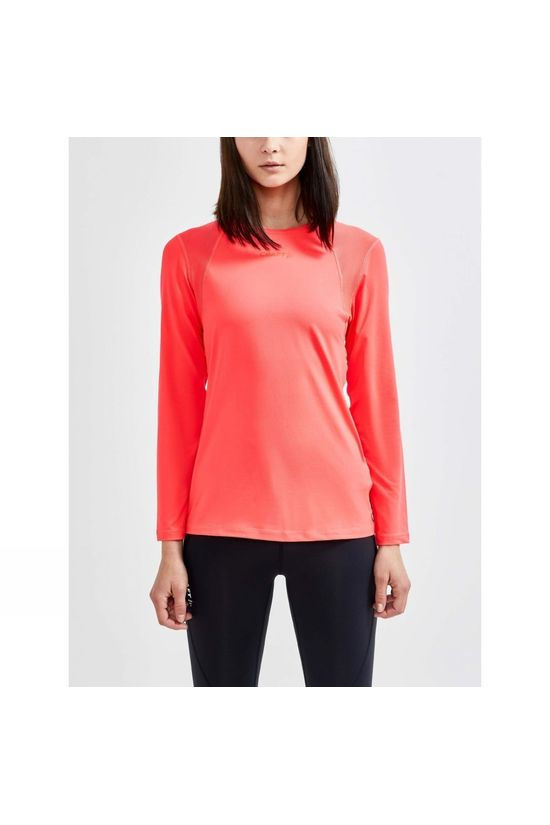 Craft Womens Advance Essence Long Sleeve Tee Crush