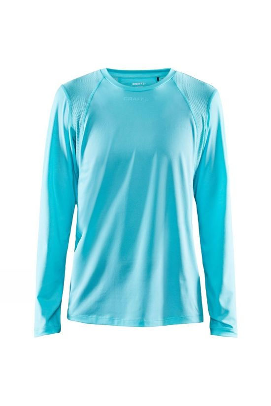 Craft Womens Advance Essence Long Sleeve Tee Sea