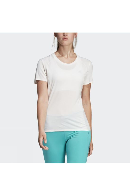 Adidas Womens Supernova Short Sleeve Tee Cloud White F18