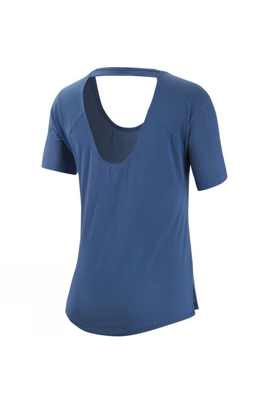 Nike Women's Short Sleeve Breathe Miler Top INDIGO STORM