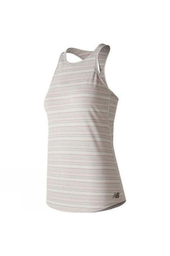 New Balance Womens Layer Tank Top Sea Salt