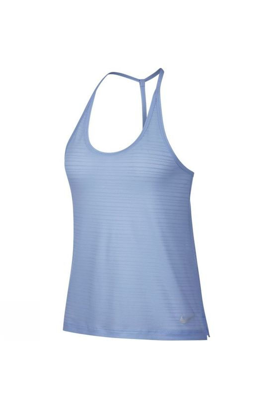 Nike Women's Miler Strappy Tank Royal Tint Heather