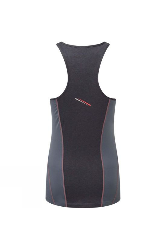 Ronhill Women's Stride Tank Charcoal/Hot Pink