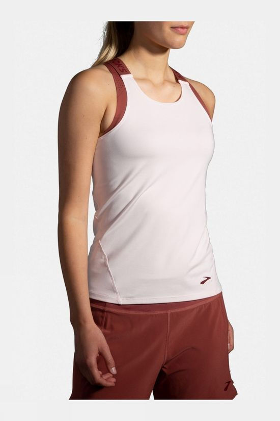 Brooks Women's Pick Up Tank Rosewater/Terracotta/Brooks