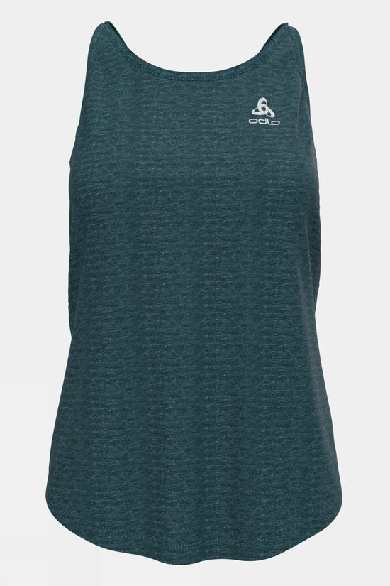Odlo Womens Run Easy Linencool Tank Balsam Melange