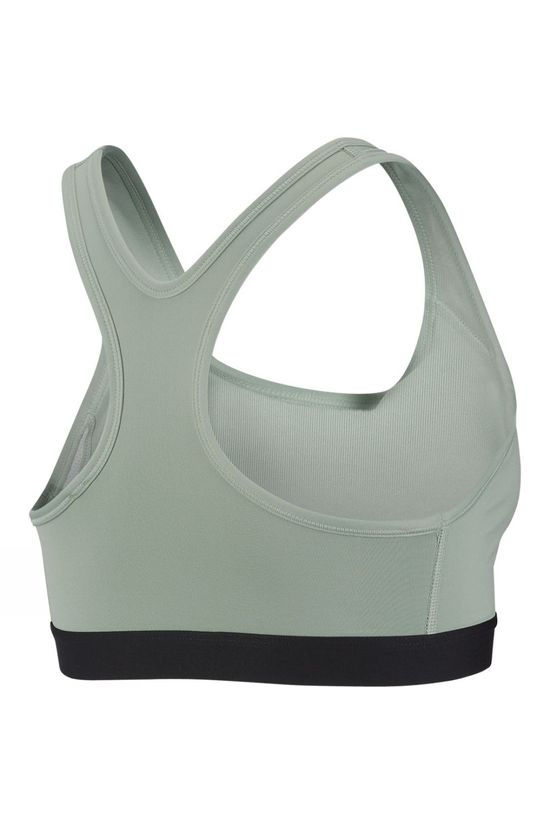 Nike Classic Padded Medium Support Sports Bra Pistachio Frost/Black