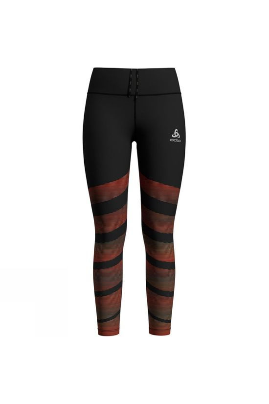 Odlo Womens Zeroweight Tights Black Print