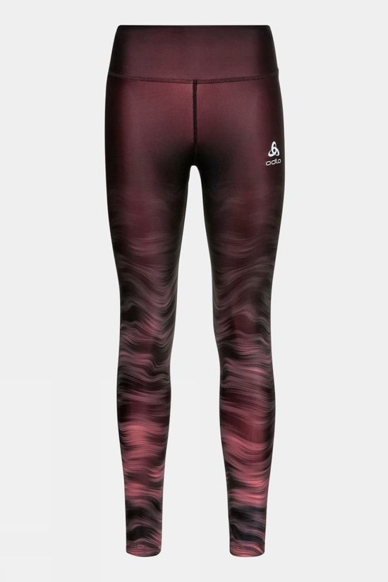 Odlo Womens Zeroweight Tights Siesta - Graphic Ss21