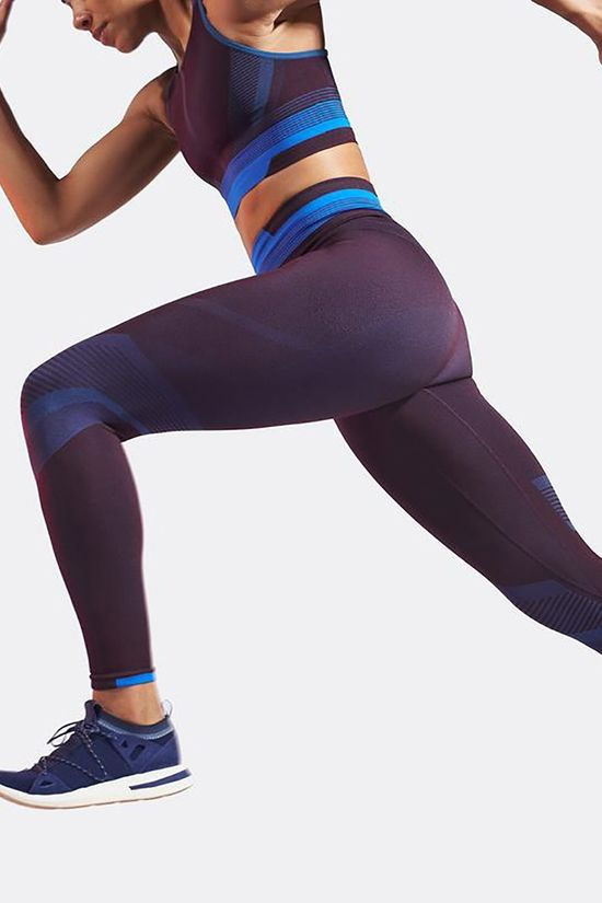 LNDR Womens Solar Leggings Blackberry