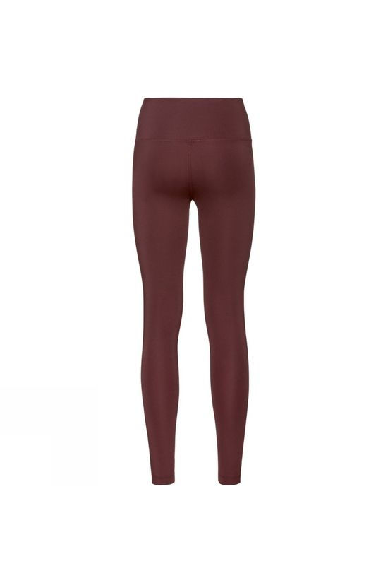 Odlo Womens Shift Medium Tights Decadent Chocolate