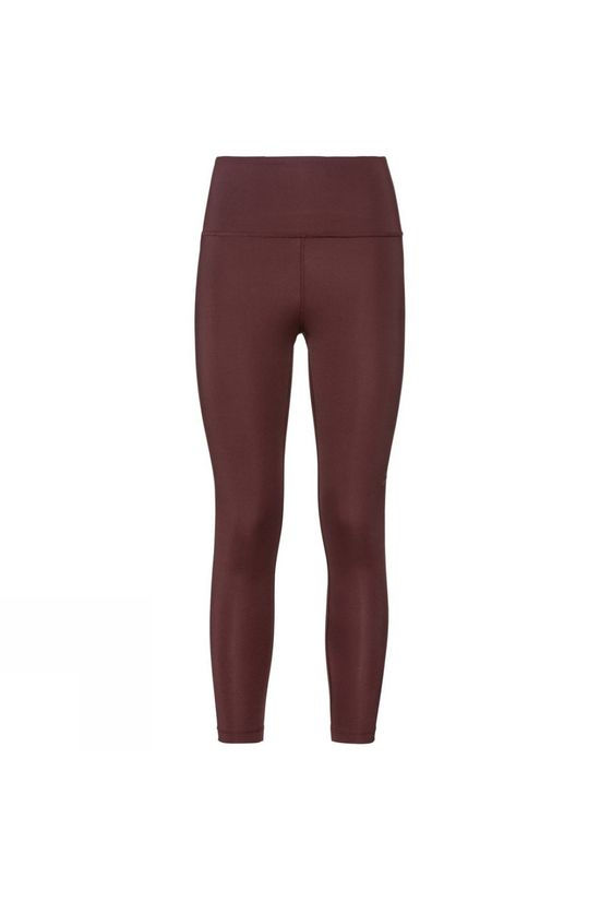 Odlo Womens Shift Medium 7/8 Tights Decadent Chocolate
