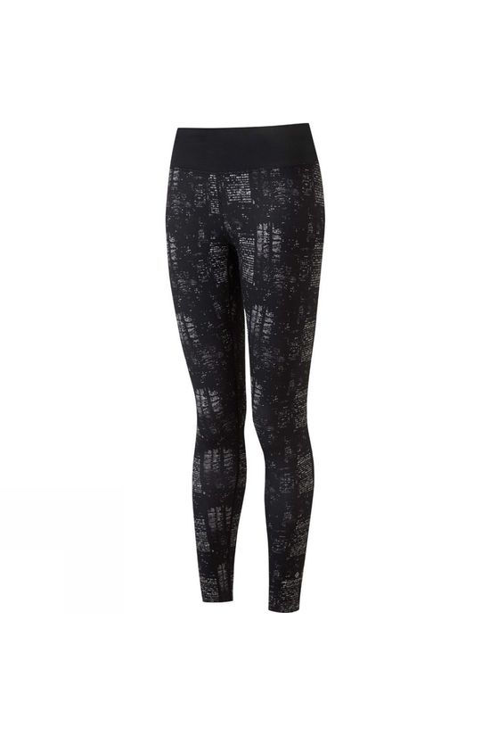 Ronhill Women's Life Tight Black/Grey Nightscape