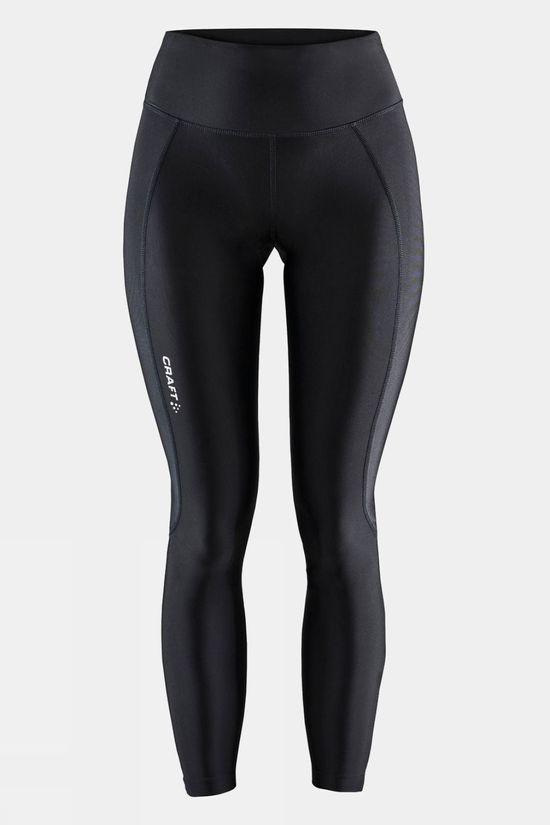 Craft Women's Advance Essence Zip Tights Black