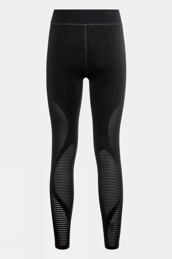 Odlo Womens Zeroweight Warp Tights Black