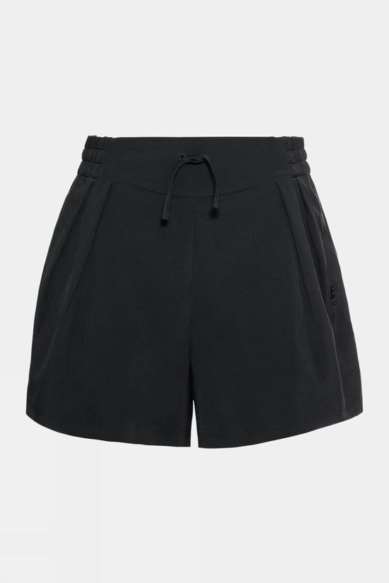 Odlo Womens Maha Woven Shorts Black