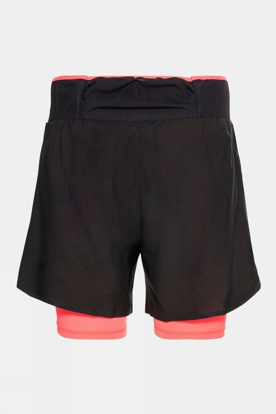 Odlo Womens AXALP Trail 6inch Short Black - Siesta