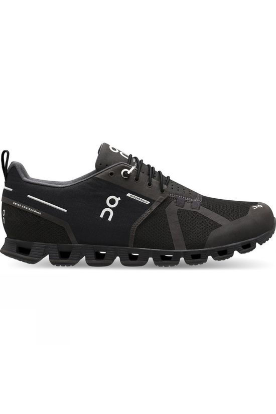 On Men's Cloud (Waterproof) Black/Lunar