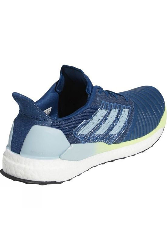 Adidas Mens Solar Boost Legend marine/ASH GREY S18/hi-res yellow