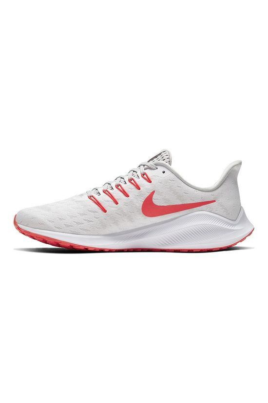 Nike Men's Vomero 14 White/Laser Crimson-grey Fog-track Red