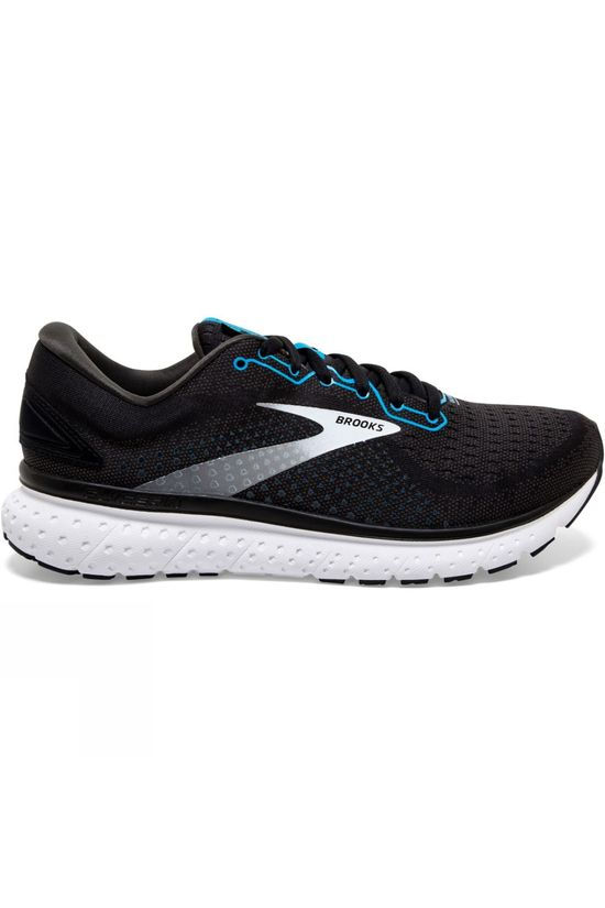 Brooks Men's Glycerin 18 Black/Atomic Blue/White