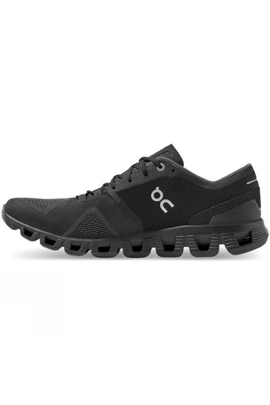 On Men's Cloud X Black/Asphalt
