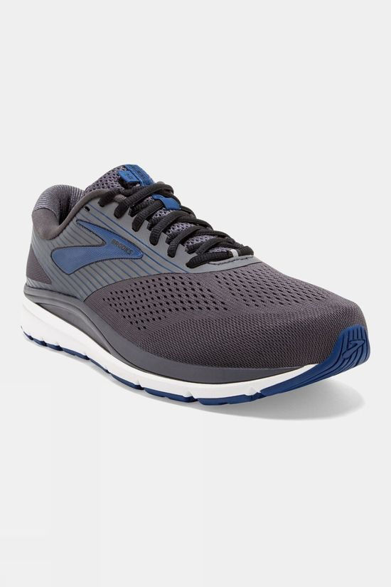 Brooks Mens Brooks Addiction 14 Narrow Blackened Pearl/Blue/Black