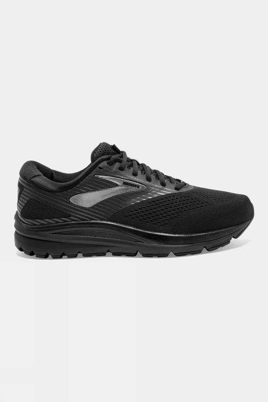 Brooks Mens Addiction 14 Black/Charcoal/Black