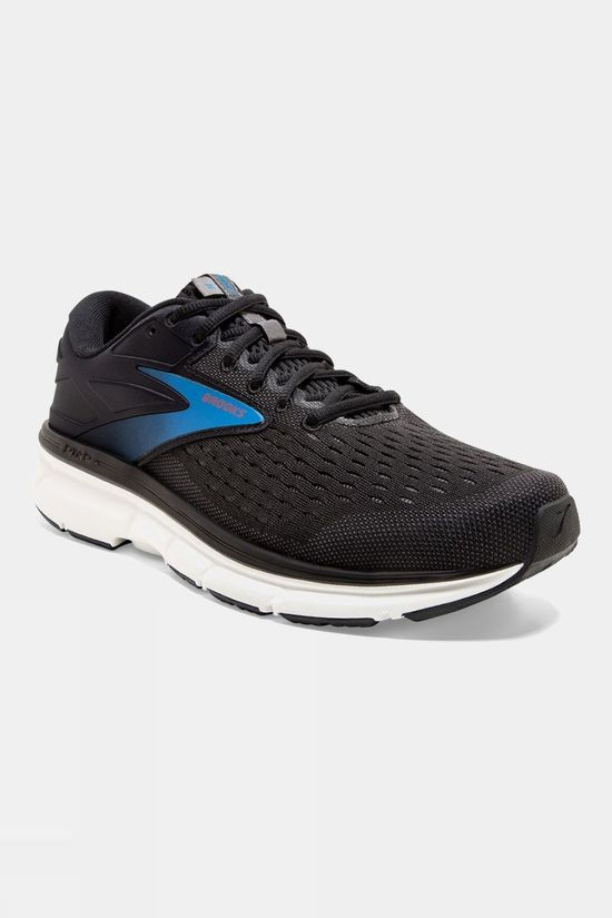 Brooks Mens Dyad 11 Black/Ebony/Blue