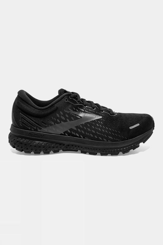 Brooks Mens Ghose 13 Wide Black/Black