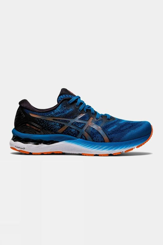 Asics Mens GEL- Nimbus 23 Reborn Blue/Black