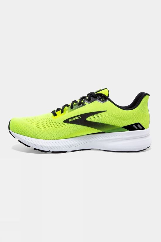 Brooks Mens Launch 8 Nightlife/Black/White