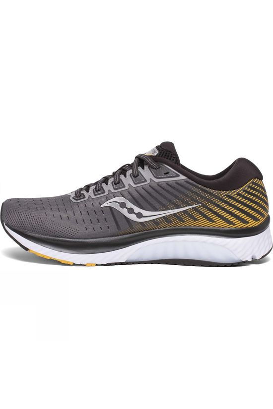 Saucony Mens Guide 13 GREY/YELLOW