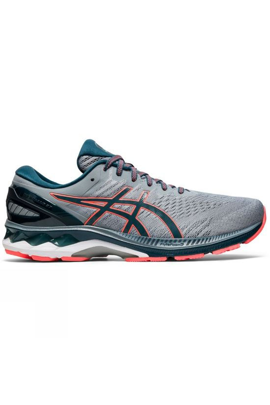 Asics Men's Gel-Kayano 27 SHEET ROCK/MAGNETIC BLUE