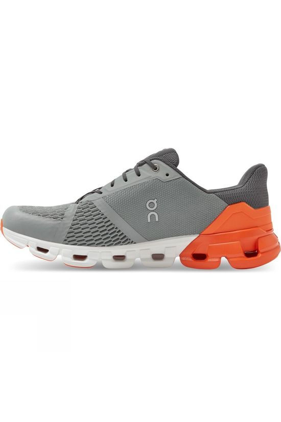 On Men's Cloudflyer Grey / Orange