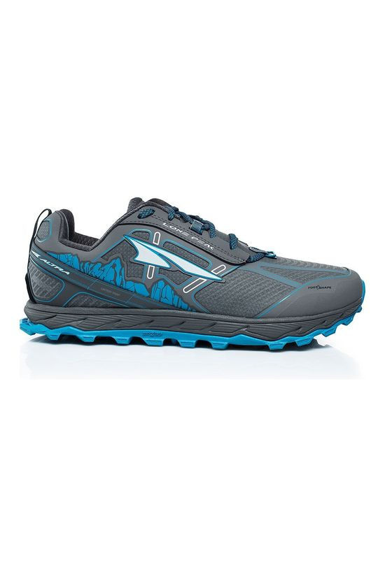 Altra Lone Peak 4 (low waterproof) Shoe Black/Blue