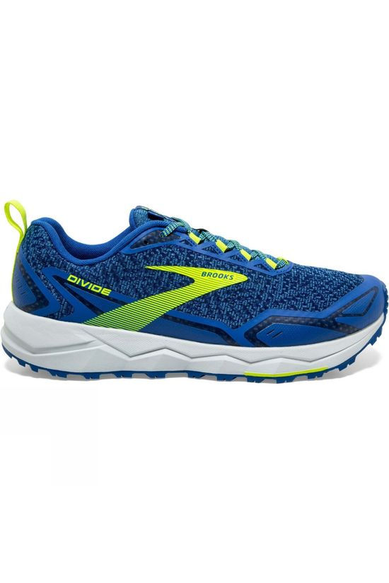 Brooks Men's Divide Vallerta Blue/Blue/Nightlife
