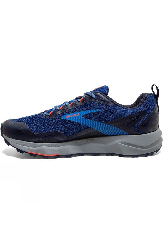 Brooks Men's Divide Blue/Navy/Cherry Tomato