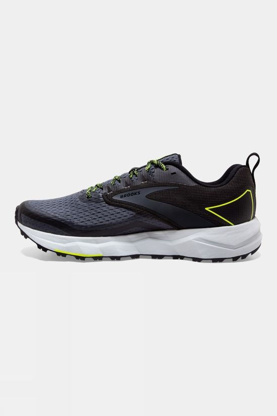 Brooks Mens Divide 2 Black/Ebony/Nighlife