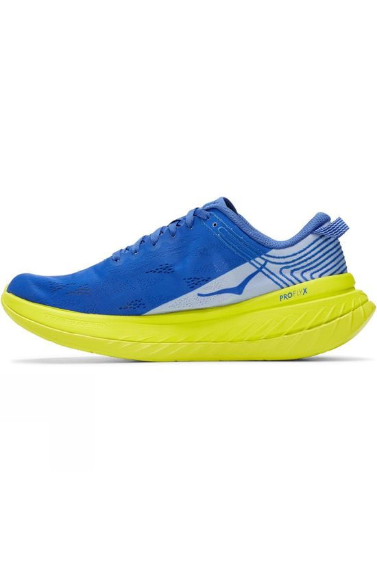 Hoka One One Men's Carbon X AMPARO BLUE / EVENING PRIMROSE