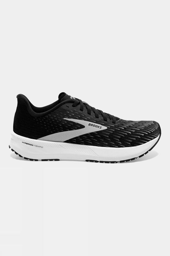 Brooks Mens Hyperion Tempo Black/Silver/White